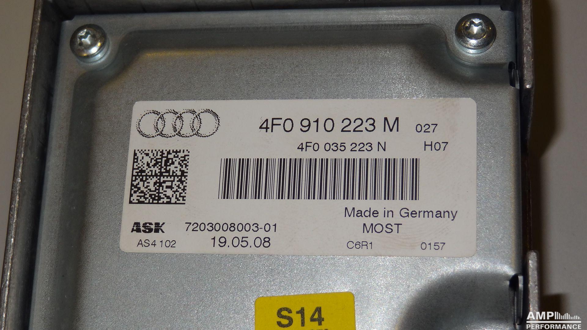 Audi A6 4F Soundsystem Amplifier - AMP Performance