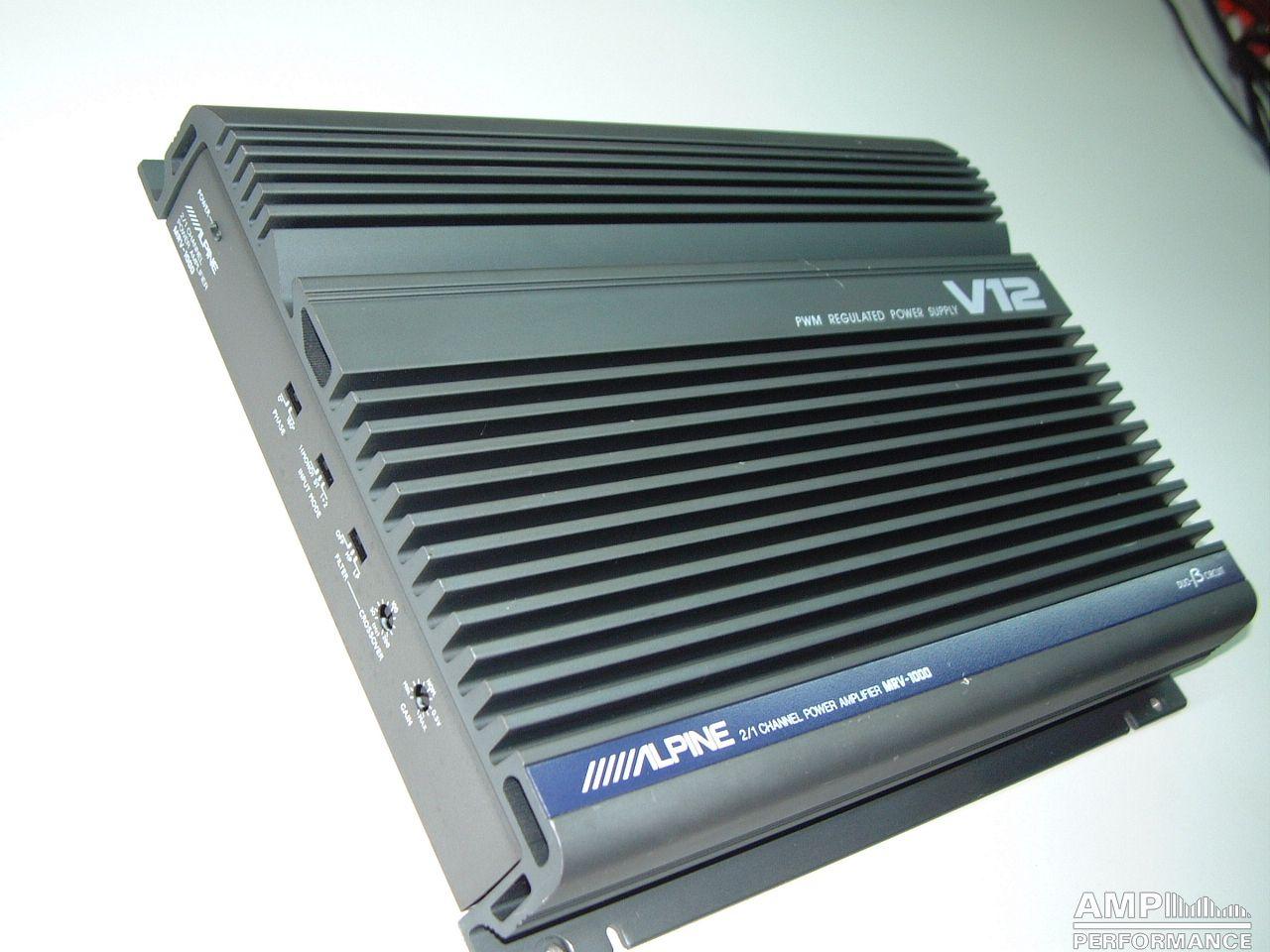 Alpine MRV-1000 - AMP Performance