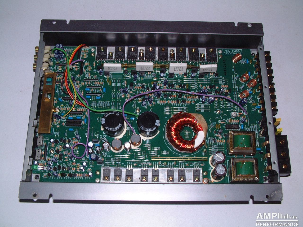 Alpine Mrv F400 Amp Performance Bridged Wiring Diagram