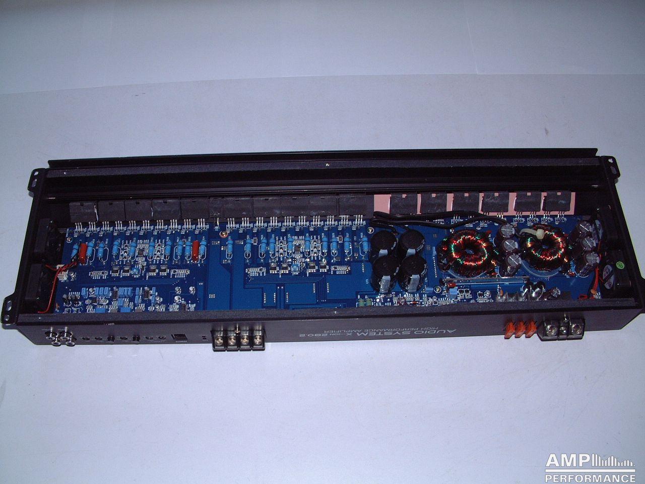 audio system x ion 280 2 amp performance. Black Bedroom Furniture Sets. Home Design Ideas