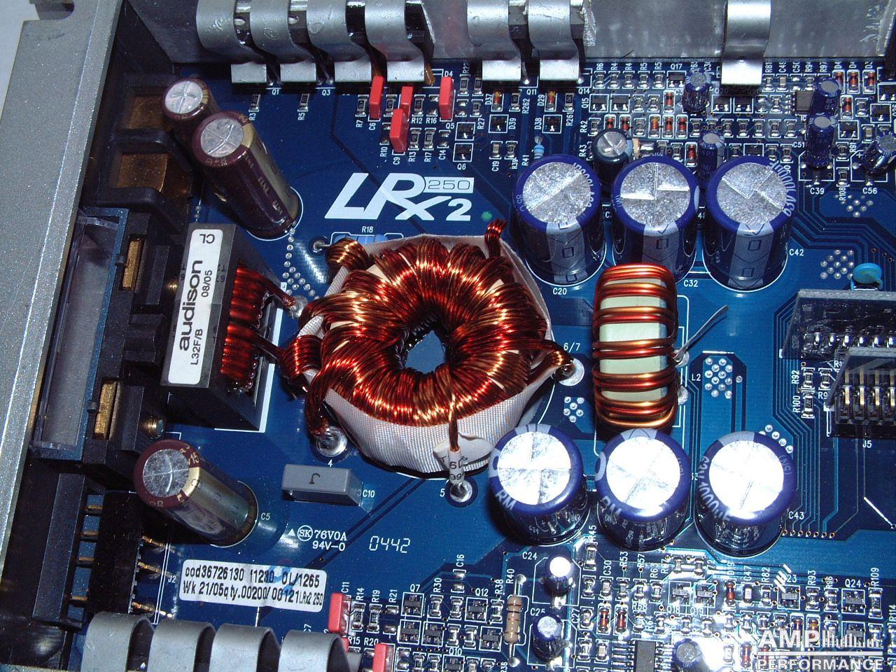 Audison LRX2 250 - AMP Performance