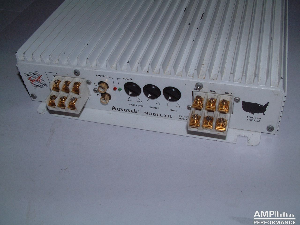 Autotek Model 333 Amp Performance 1 Ohm Wiring Diagram