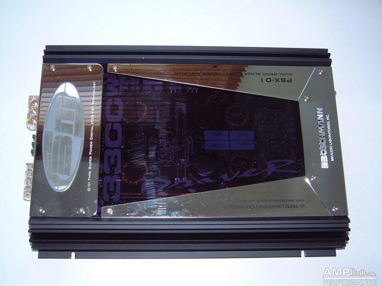 BM Audio PSX-D1 - AMP Performance