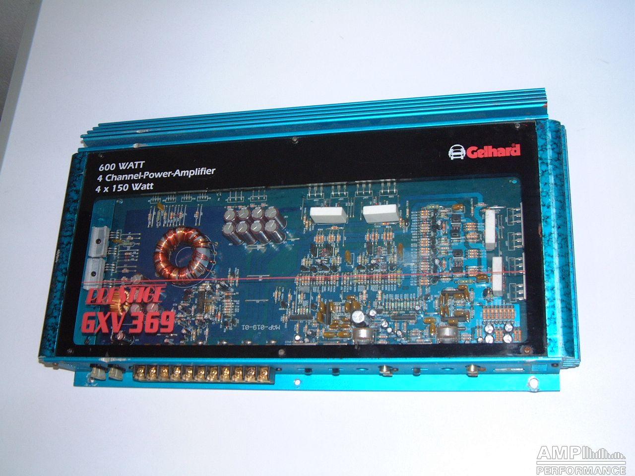 Gelhard Prestige GXV 369 - AMP Performance
