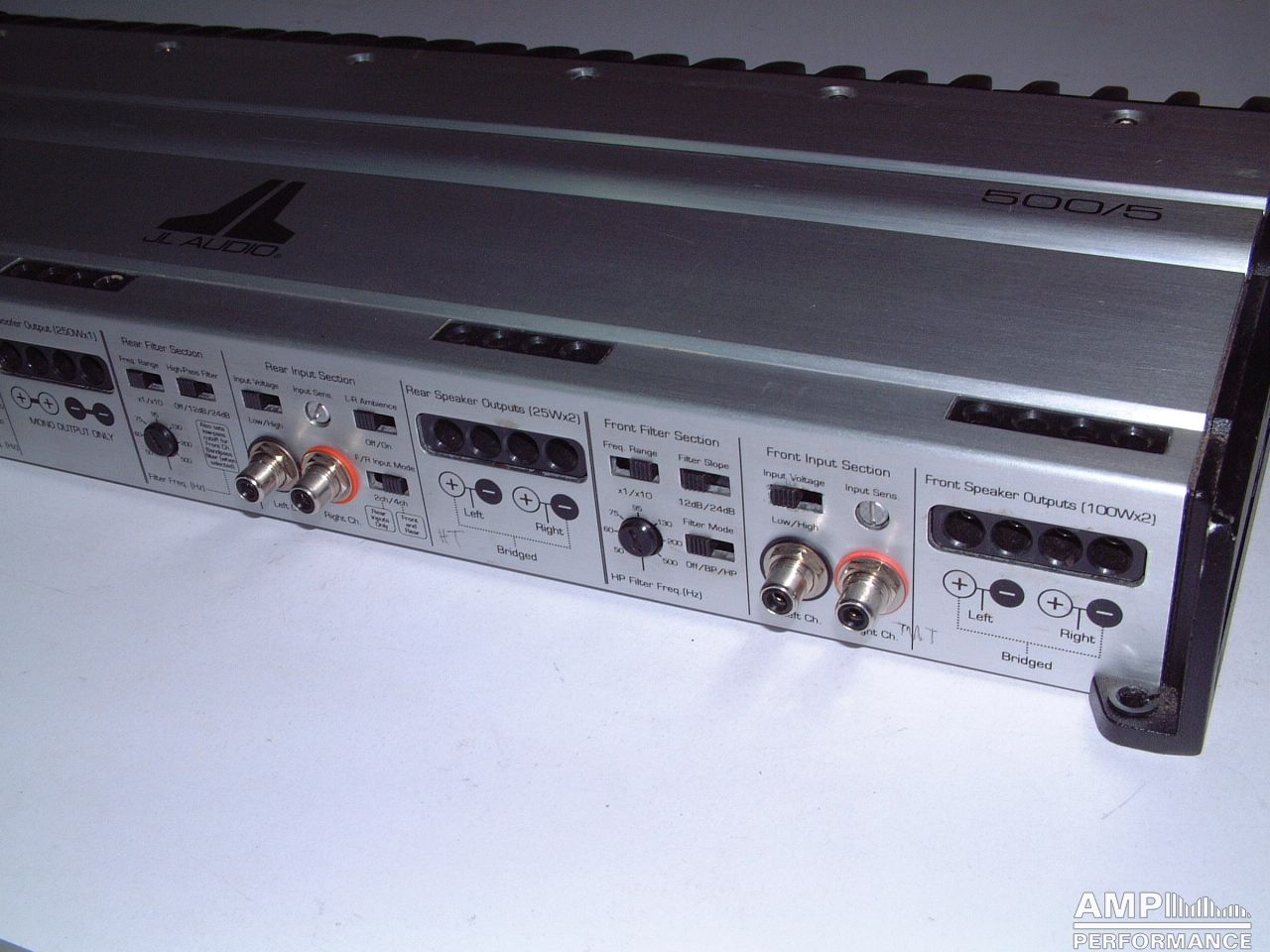 Jl Audio 500 5 Amp Performance Amplifiers