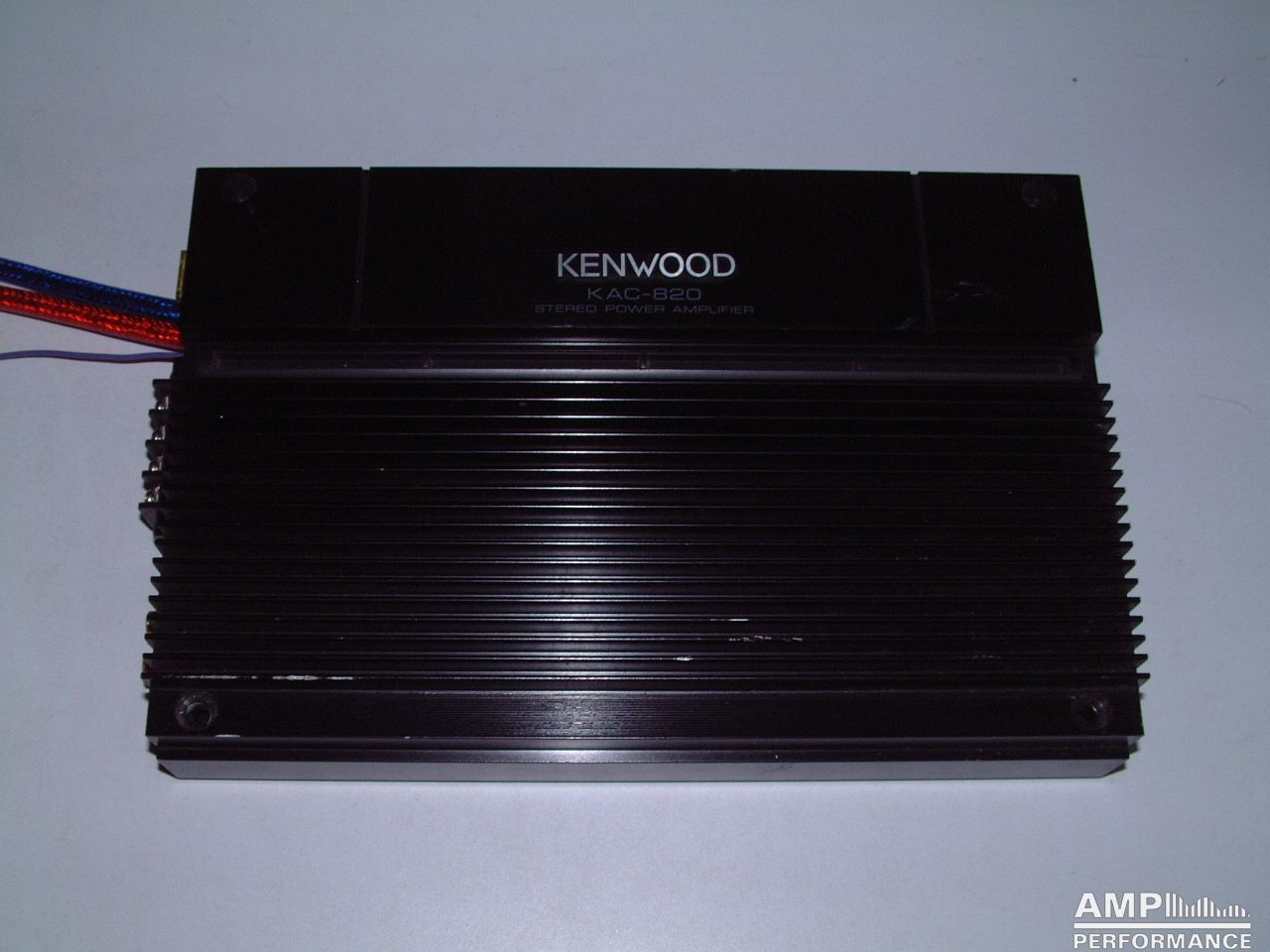 Kenwood Kac 820 Amp Performance