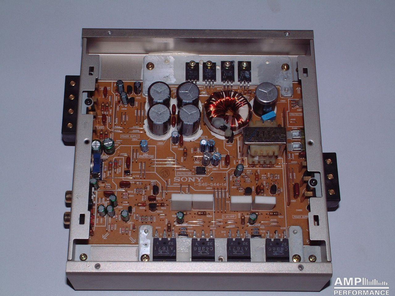 Sony Xm 4520 Amp Performance Amplifier Schematic Diagram Xm 4520